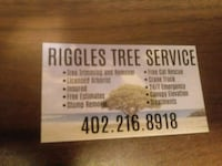 tree cutting /triming/removal Council Bluffs