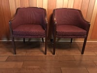 Two Antique Club Chairs