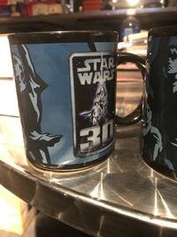 Star Wars cups and vhs Toronto, M6E 2L1