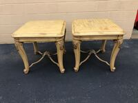 Set of 2 Solid Wood End Tables Project Pieces  Woodbridge, 22192
