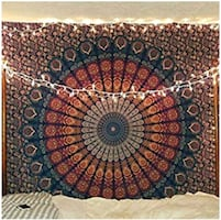 Sacred Geometry Tapestry Wall Hanging for Bedroom, Living Room, Yoga..
