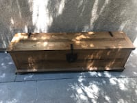 Rustic Trunk Mexican Wood Furniture GREAT CONDITION Los Angeles, 91367