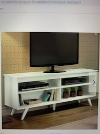 White media console UNUSED (still in box) Boston, 02127