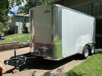 LIKE NEW 5/6 in combo gutter machine and brand new trailer - $15000 (overland park) Overland Park, 66212