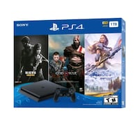 [Brand New] PS4 1To Bundle 3 exclusives games Montreal, H3G 2H1