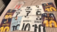 assorted-color-and-brand shirt lot 7 km