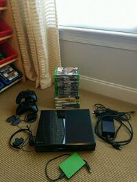 Xbox One, accessories, and 22 games MINT CONDITION Holly Springs, 27540