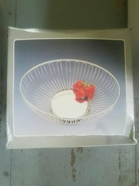 Dish for fruit brand new
