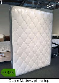 quilted white and gray floral mattress La Mirada, 90638