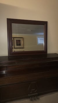 Mirror with Cherry Brown Border Rockville, 20853