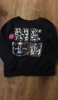 Black and white printed pullover hoodie San Martin, 95046