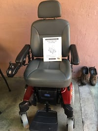 black and red motorized wheelchair Hayward, 94545