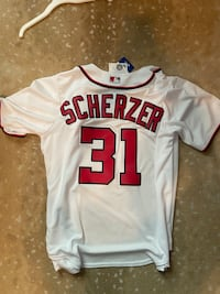 Nationals Max Scherzer Jersey M  Washington, 20008