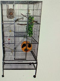 Nice cage for small to medium birds or other pets Hampton, 23664