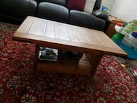 Wooden center table Raleigh