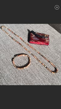 Necklace and bracelet set Rutherford, 07070