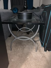 Glass Side Table!