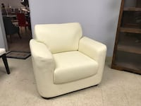 Creamy Color Sofa Accent Chair