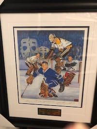 Ltd Edt.Autographed Legends of the Crease Bower/Worsley/Hall/Cheevers Toronto, M6S 2S8