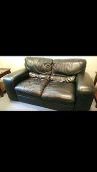 Italian leather and side 2 tables Falls Church, 22042