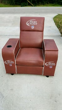 Man cave Sports recliner football chair Houston, 77090