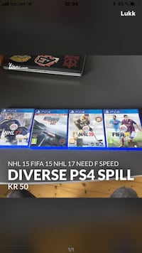 Ps4 spill Oslo, 1152