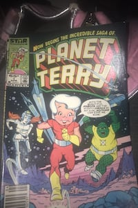 Now begins the incredible saga of planet terry 1984 comic book