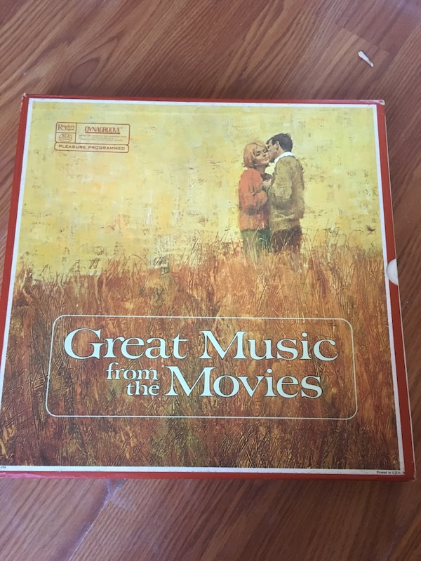great music from the movies record collection