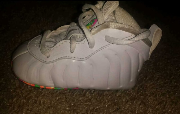 cheap for discount fb015 69725 ... Infant foamposites size 1  Nike baby foamposite fruity pebbles ...