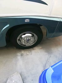 chrome-colored bullet hole vehicle wheel and tire Rancho Cucamonga, 91739
