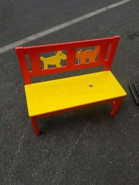 Kids Bench Hyattsville