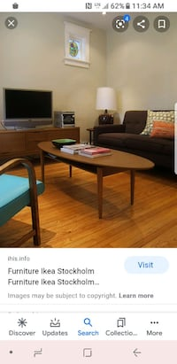 İKEA coffee table stockholm collection Toronto, M1R 5G9