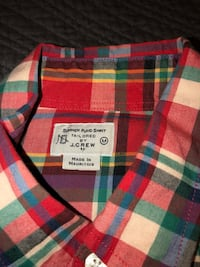 red and black plaid button-up shirt Kettering, 45420