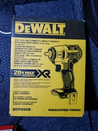 """Dewalt 3/8 """" (9.5mm)Compact Impact Wrench"""