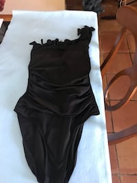 Kenneth Cole one shoulder swimsuit