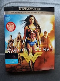 DC Wonder Woman movie case