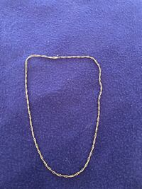 Gold and Silver-coloured chain necklace 3127 km