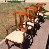 4 STANLEY FURNITURE dining chairs Sun Lakes, 85248