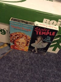 Two Shirley Temple books