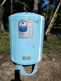 blue and white water heater Picayune