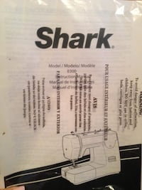 shark sewing machine NEW! Laval, H7T 3C1
