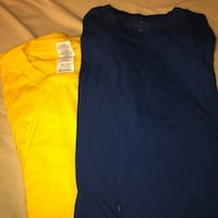 T shirts (gilden and champs sports gear) Toronto, M6M