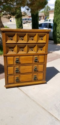 Solid Wood Chest of Drawers El Paso, 79936