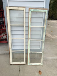 two white wooden framed glass windows Muskegon, 49444
