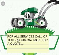 Lawn mowing New Westminster