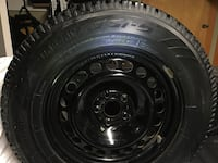 Winter tires and rims 245/65 R17 Rossland, V0G