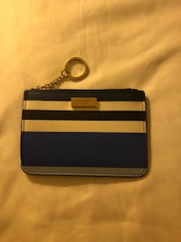 Blue and white kate spade leather card holder Rockville, 20850