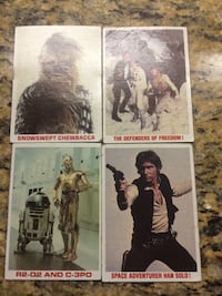 Star wars card collection