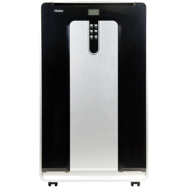 Haier  [TL_HIDDEN]  BTU Portable Air Conditioner, Small, Black/Silver