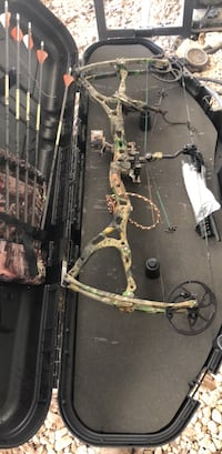 Brown and black compound bow Fenton, 70648